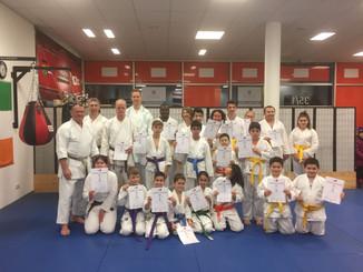 Erfolgreiche Karate Prüfung am 23.01.2017