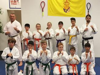 Karate Training für Kinder