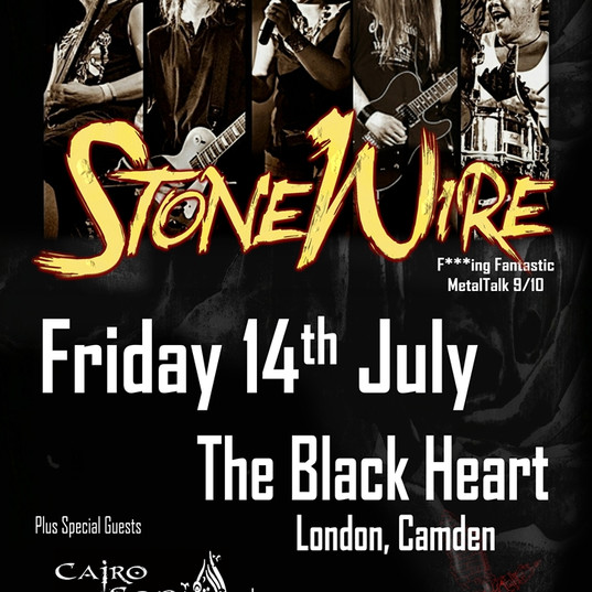 One Night Only! - The Black Heart, Camden - 14th July