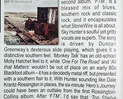 """First review of """"Life As We Know It"""" and it's a 9/10 from Powerplay Magazine"""