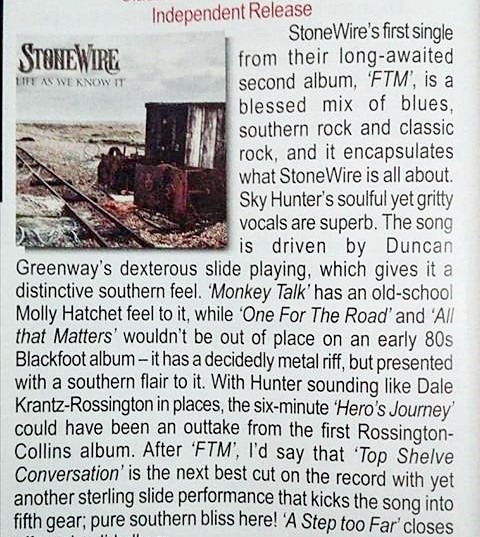 "First review of ""Life As We Know It"" and it's a 9/10 from Powerplay Magazine"