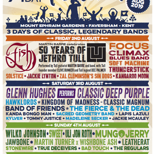 StoneWire confirmed for  A New Day Festival