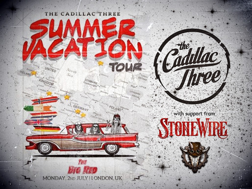 StoneWire to support THE CADILLAC THREE