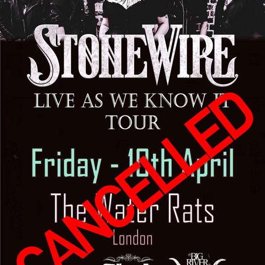 Coronavirus - gig cancellations