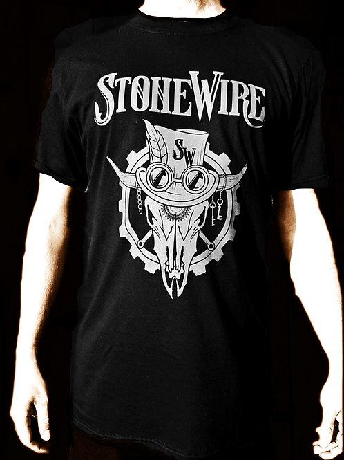 Mens Skull T-shirt (grey)