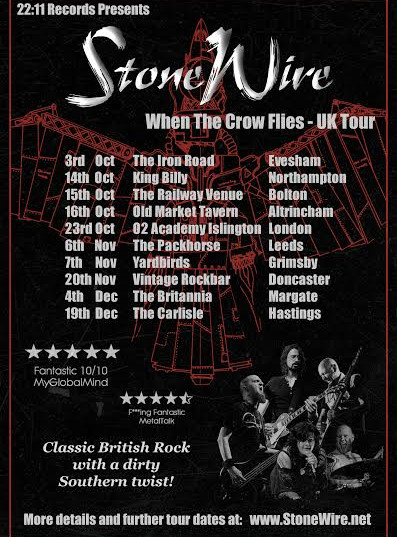 When The Crow Flies UK Tour