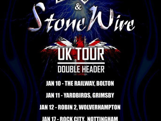 Joint headline UK tour with our good friends Four Wheel Drive this January!