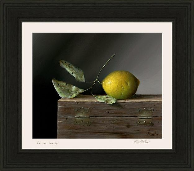 Lemon on a Box