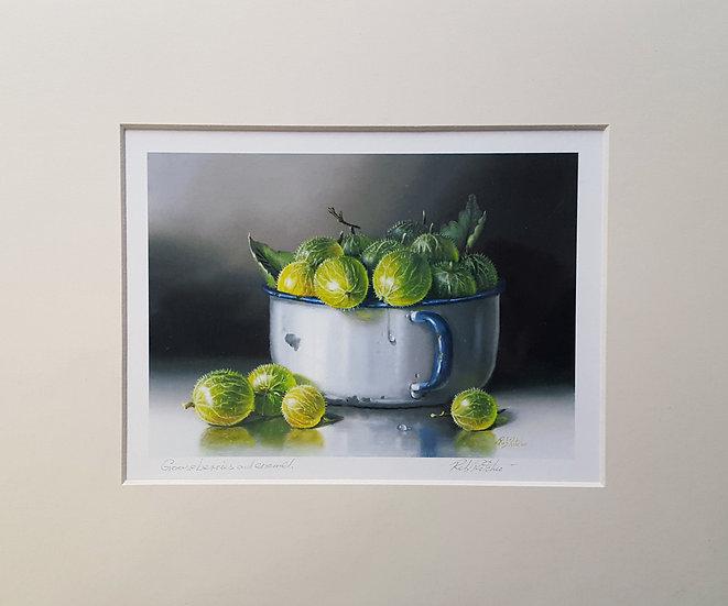 Gooseberries & Enamel