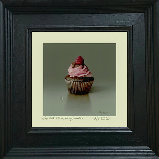 Chocolate & Raspberry Cupcake