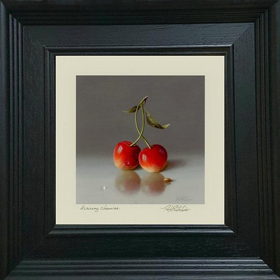 Kissing cherries