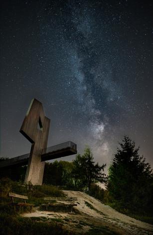 Erbeskopf im Sternenlicht