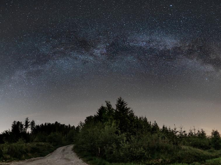 Milchstraße im Hunsrück