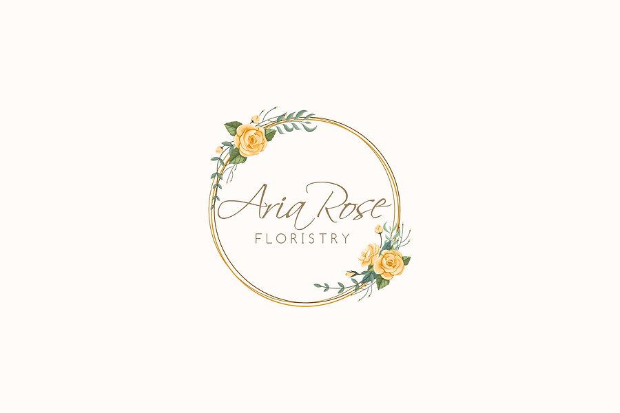 Aria Rose Floristry logo
