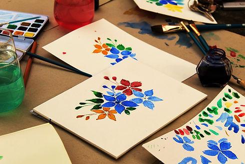 Watercolour art class_Monika Robak_Pixab