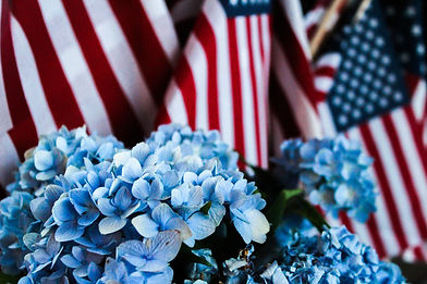 American flag and flowers.jpg