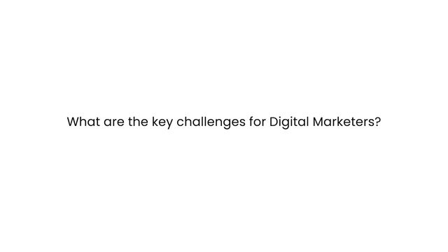 A digital marketing leader shares his most important ideas