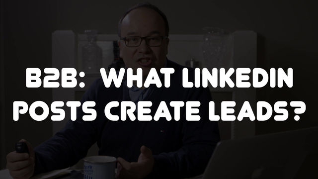 What Linkedin posts generate leads?
