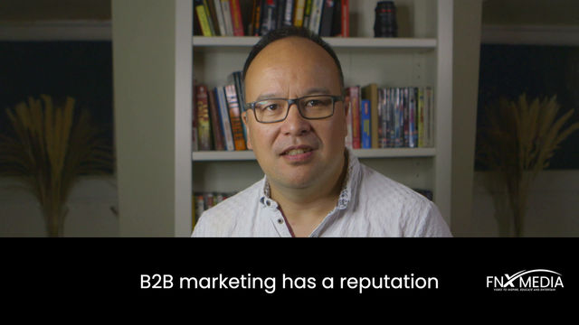 B2B:  How to make spectacular marketing!