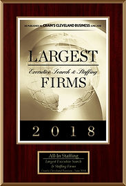 2018 Largest Staffing Firm Clevland OH