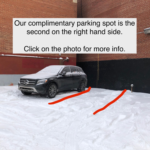 Here's where to park!
