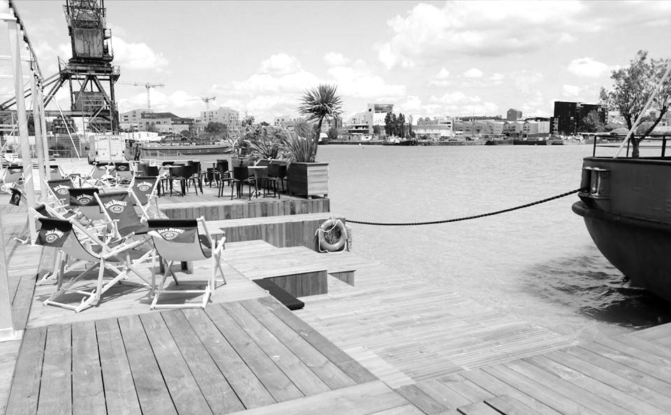 La terrasse de l'Iboat