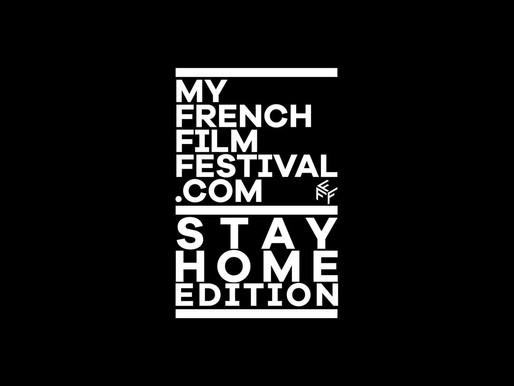 """My French Film Festival, """"Stay Home Edition"""", le meilleur du film français depuis votre canapé"""