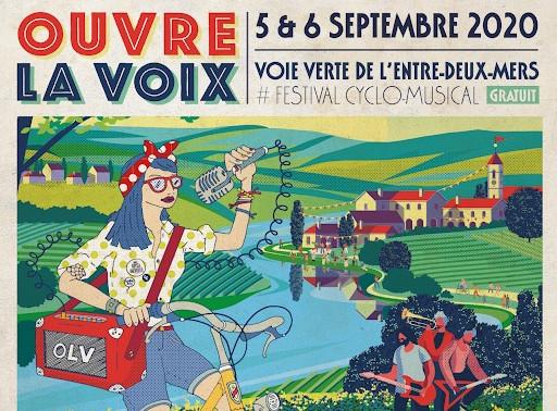 Festival Ouvre la Voix : l'événement cyclo-musical qui va égayer votre rentrée