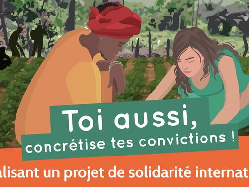 La pépinière de solidarité internationale pour concrétiser ses convictions