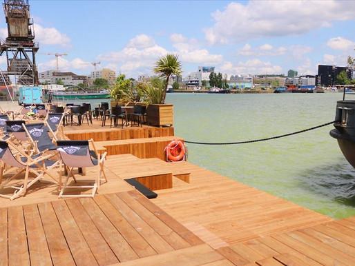 The Terrasse to be : La plage de l'IBOAT