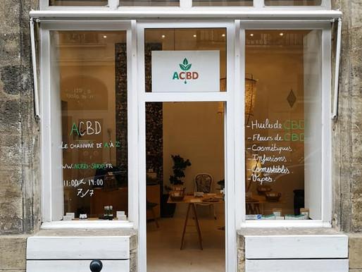 La boutique ACBD   à Bordeaux