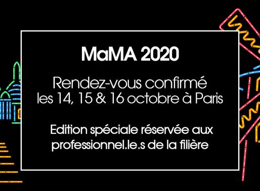 Edition spéciale pour le MaMA Festival