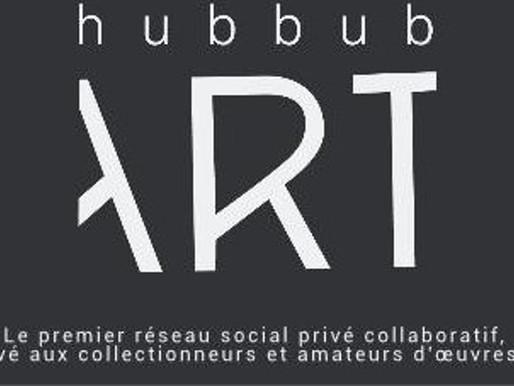 Hubbub Art : le premier réseau social collaboratif d'art