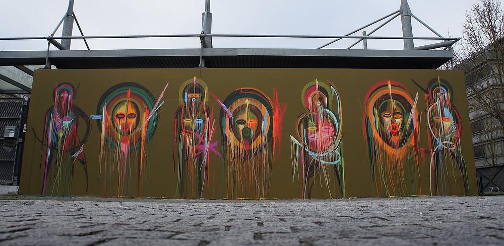 Le 43ème mur, réalisé par Stéphane Carricondo (visible jusqu'au 16/03) - Le M.U.R de Bordeaux.