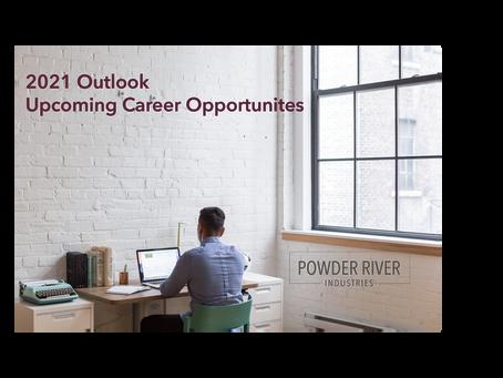 2021 PRI Outlook: Career Opportunities