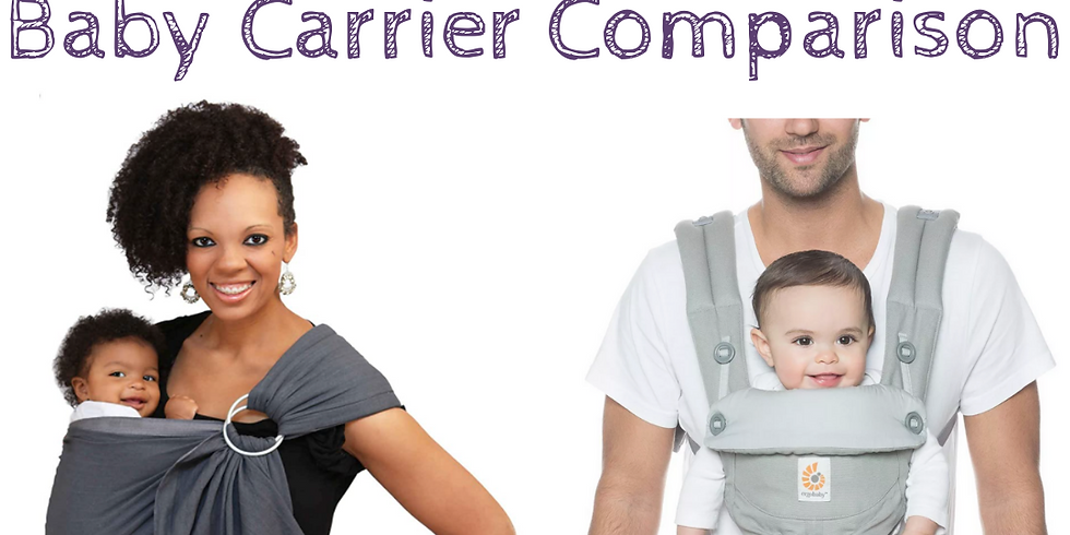 Comparing The Ergobaby Carrier vs Maya Wrap Baby Sling