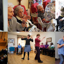 The Age of Creativity is a network of more than 1,000 professionals who all believe that creativity and culture supports older people to experience better health, wellbeing and quality of life.