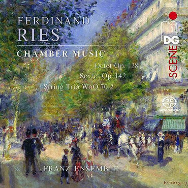 Cover Ries CD franz ensemble