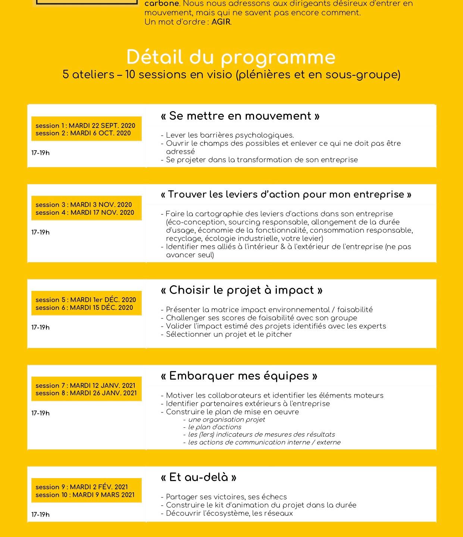 MissionChange programme