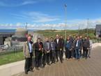 Visite de la centrale nucléaire de Flamanville
