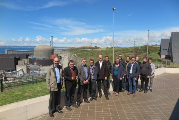14 membres du CDM à Flamanville