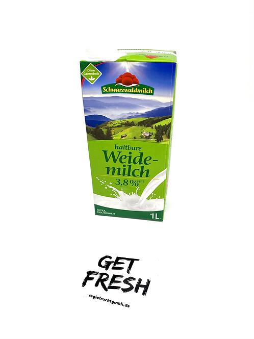 Schwarzwaldmilch Haltbare Weidemilch 3,8% 1L
