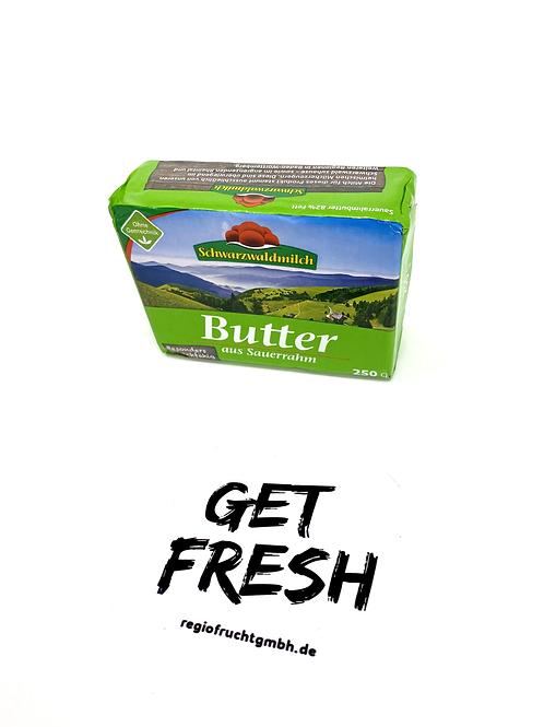 Schwarzwaldmilch Sauerrahmbutter 82 % Fett - 1 x 250 g Packung