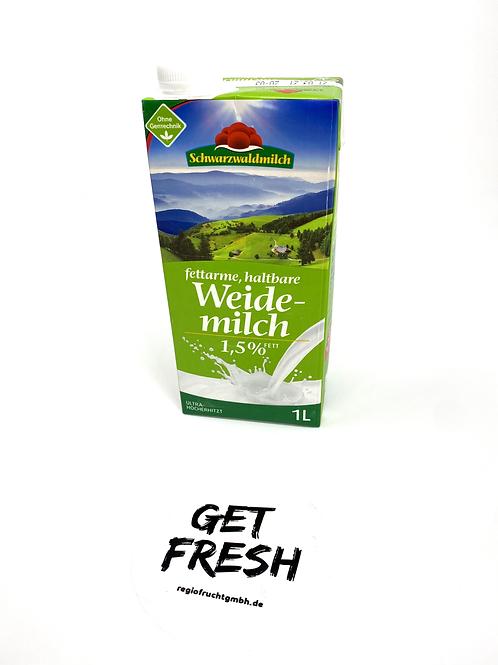 Schwarzwaldmilch Haltbare Weidemilch fettarm 1,5% 1L