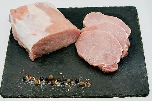 Schweinerückensteak natur