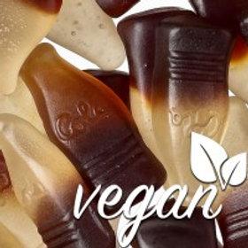 Vegane Fruchtgummi Cola-Fläschchen ohne Gelatine 200gr.