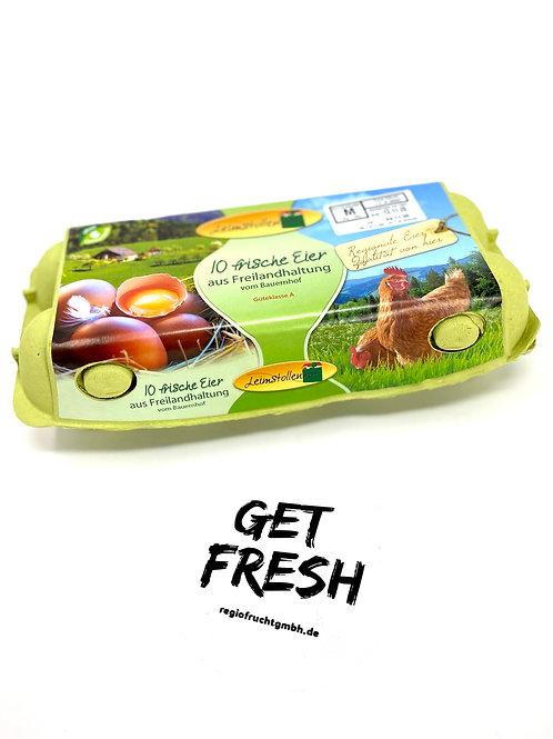 Eier Freilandhaltung (10 Stück)