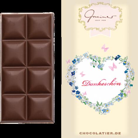 Vollmilchschokolade, Dankeschön, 45g