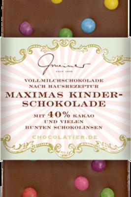 Maximas Kinderschokolade