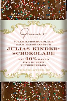 Julias Kinder-Schokolade